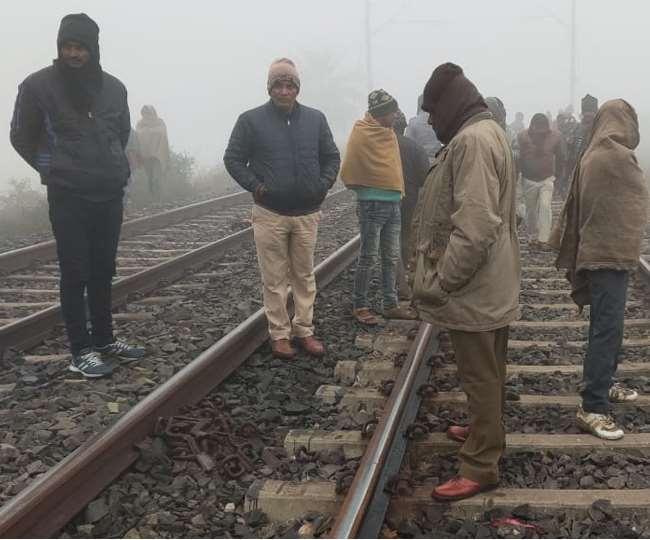 ट्रेन से कटकर मामा और भांजी की मौत, लोगों ने उठाए कई सवाल