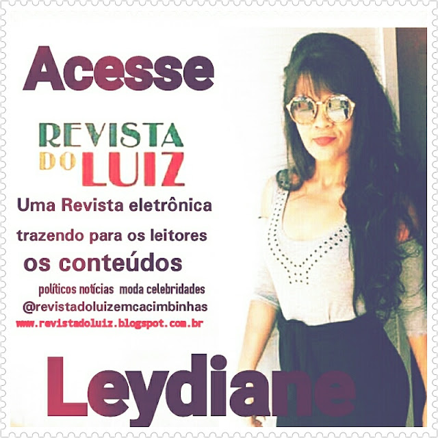 Siga a revista do Luiz nas redes sociais