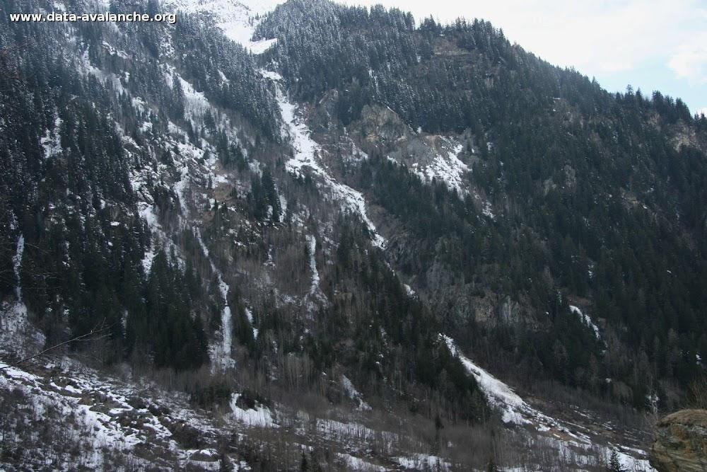 """Avalanche Vanoise, secteur Aiguille Rouge, Versant """"La Thuile"""" - Photo 1 - © Costerg Bernard"""