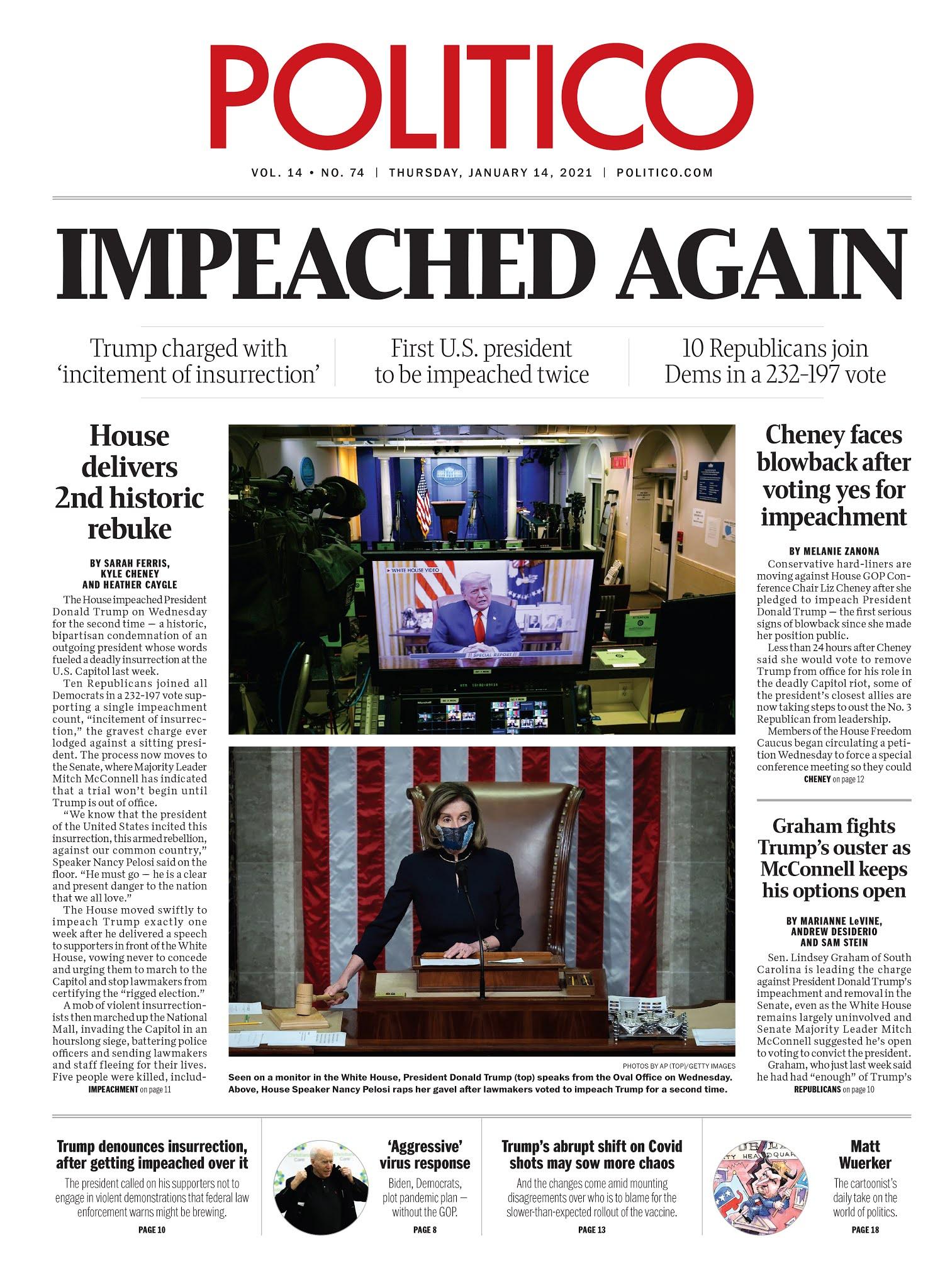 Impeached again