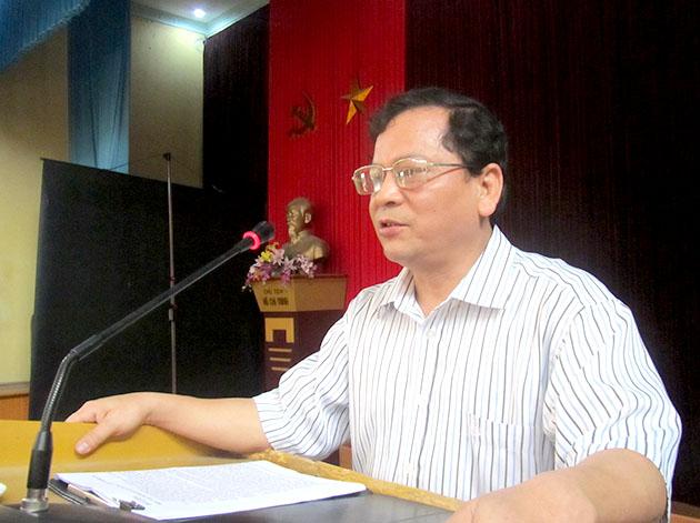 Hội nghị học tập Nghị quyết  Hội nghị lần thứ VI (khóa XI) tại Trường Cao đẳng Sư phạm Yên Bái