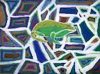 Green Frog by Gunner