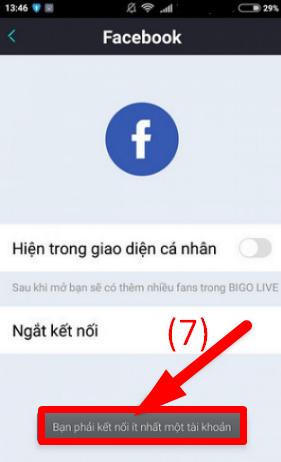 Hướng dẫn đăng xuất tài khoản Bigo Live trên điện thoại cài Android + HÌnh 11