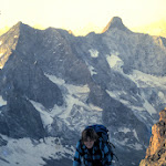 1987.07 Toto Gronlund West Ridge of West Summit of Rateau-Ecrins 87.JPG