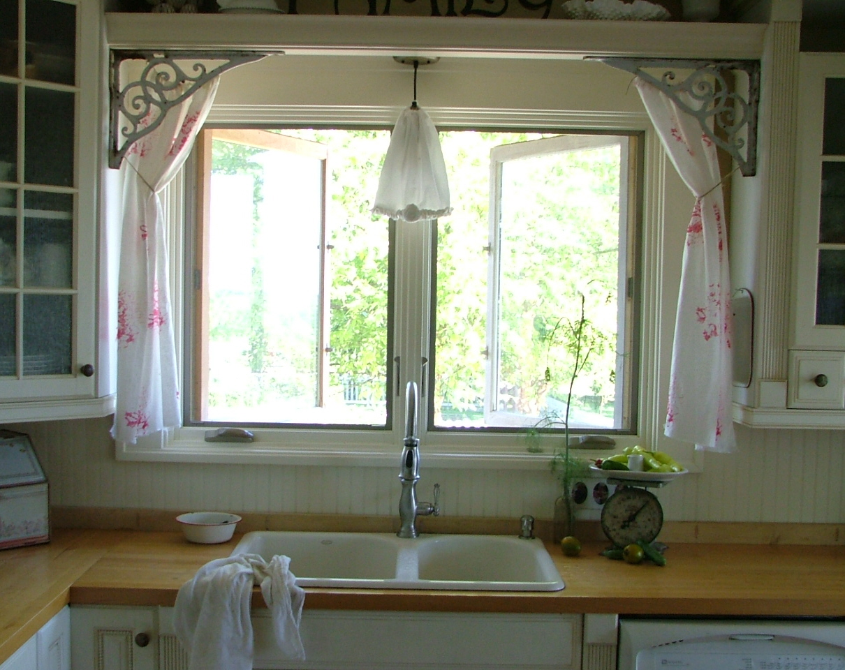 kitchen casual curtains...