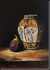 Chinese Vase and Fig small
