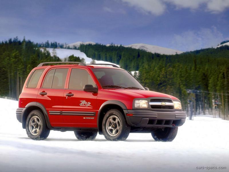 Chevrolet tracker 2003 инструкция