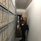 2018-11-07 Els alumnes de 2GA visiten l'Arxiu Municipal de Gavà