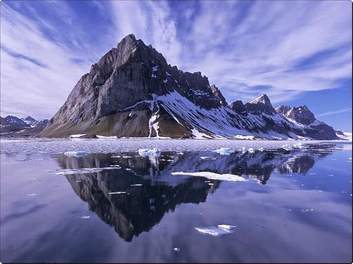 Mountain Reflections, Spitsbergen, Norway.jpg