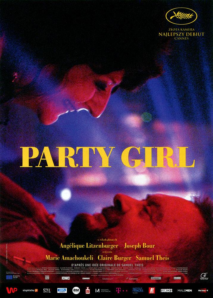 Ulotka filmu 'Party Girl (przód)'