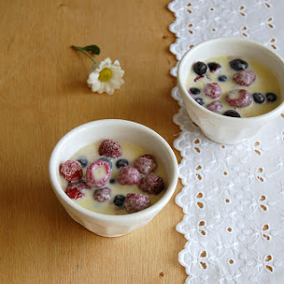 Iced Berries with Limoncello White Chocolate Sauce Recipe