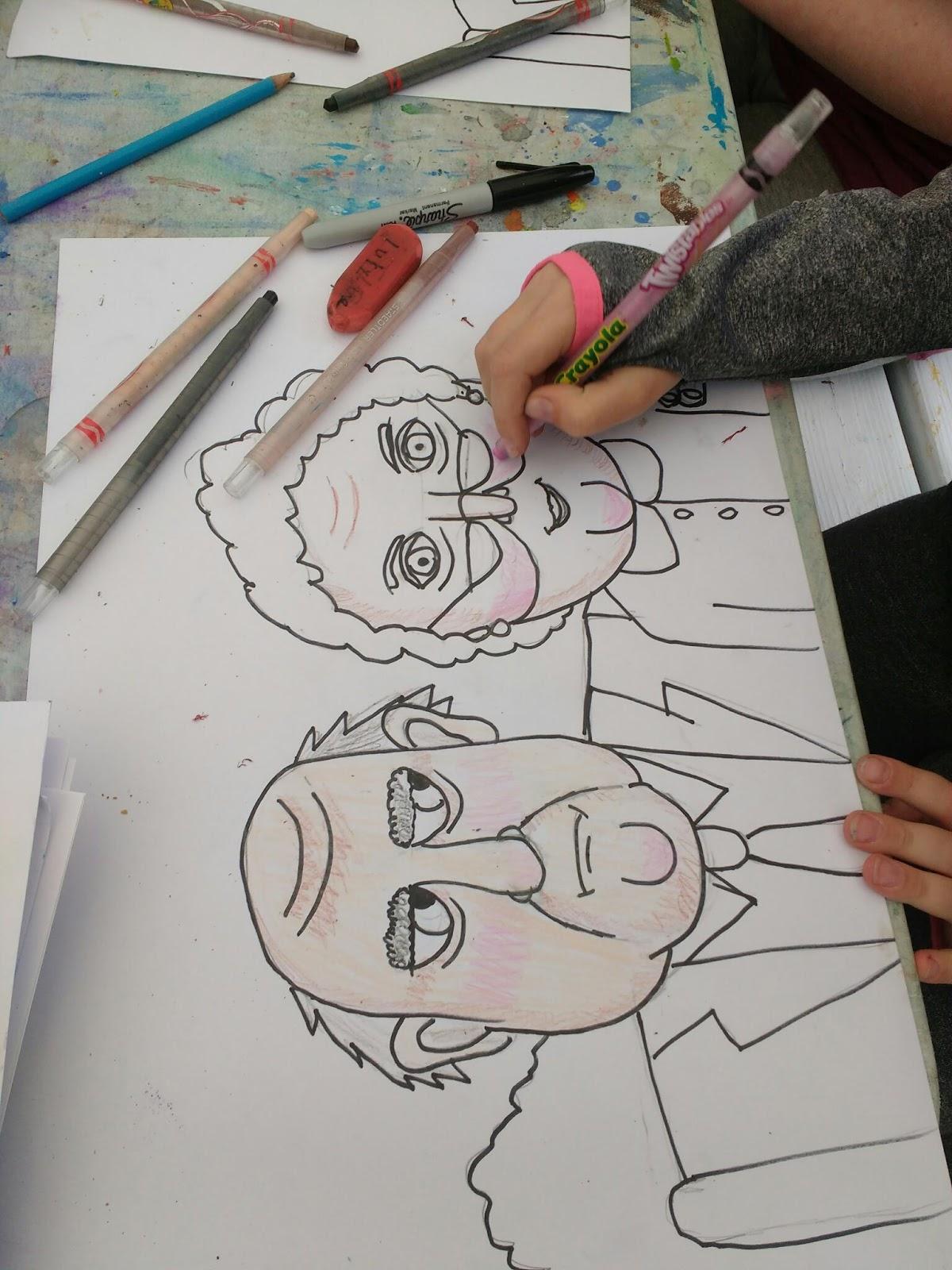 The Pencil Box School Drawing