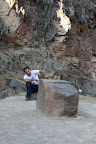 Joshua Watching Prehistoric TV (Sacred Valley, Peru)