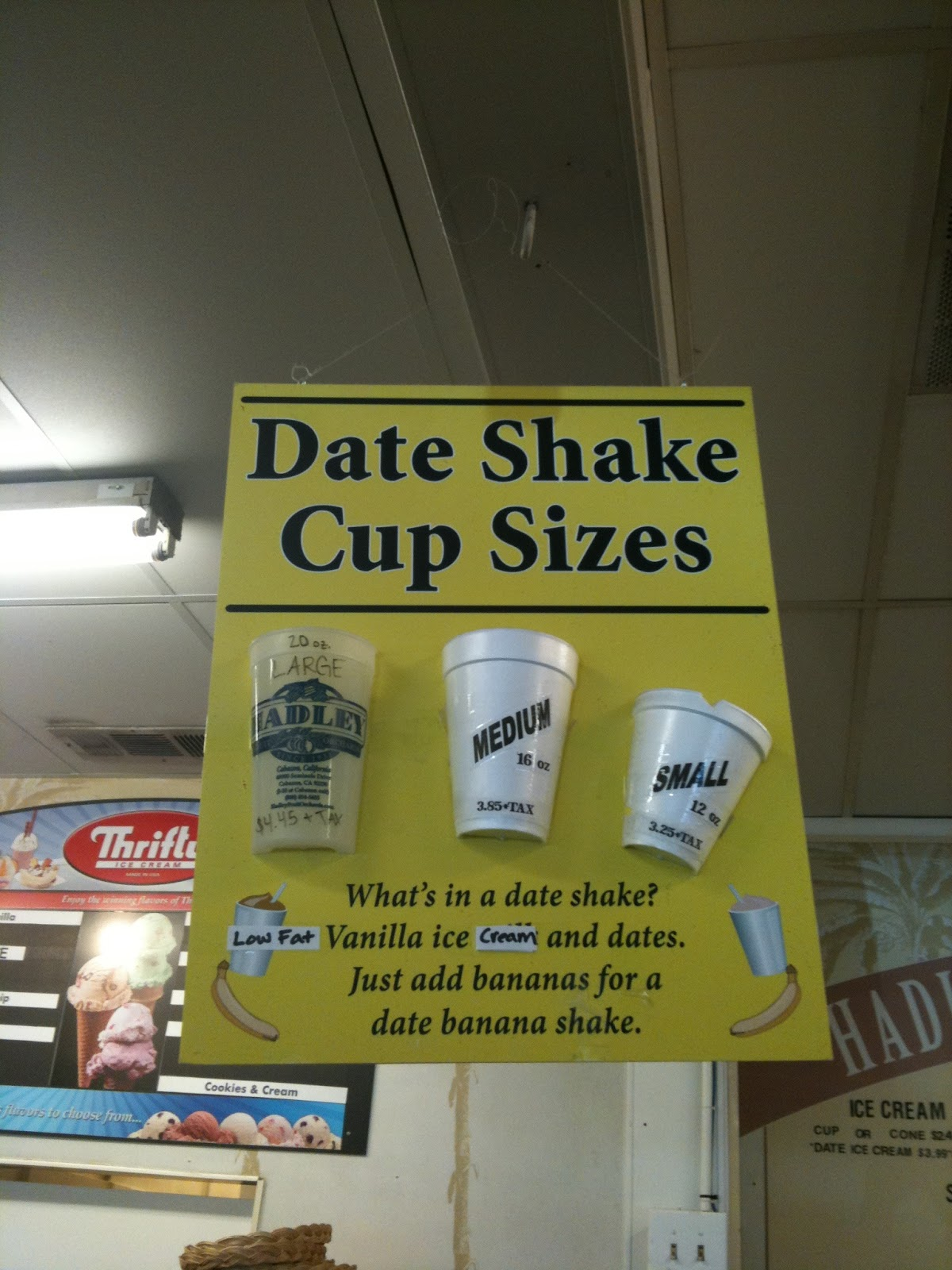 What is a date shake