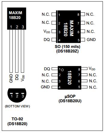 TÀI LIỆU 8051: Giao Tiếp Modul Cảm Biến nhiệt Độ DS18B20