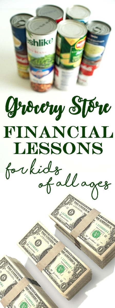 Grocery Store Financial Lessons for Kids