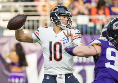 NFL: première victoire pour les Bears