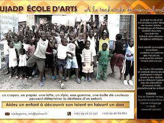 Une affiche de l'UJADP Ecole d'art/Ph droits tiers.