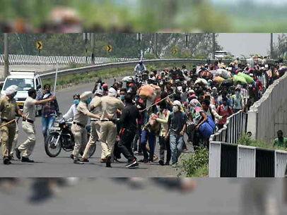 लॉकडाउन की मजबूरी / अम्बाला में पैदल बिहार जा रहे दो प्रवासी मजदूरों को कार ने कुचला, एक की मौत, दूसरा घायल