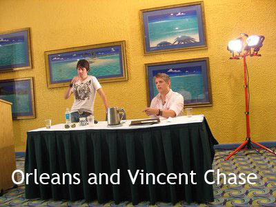 Orleans And Vincent Chase Pua, Beachmuscles