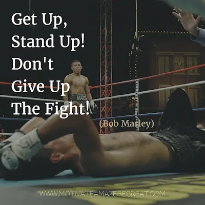 """Featured once again in our Most Inspirational Song Lines and Lyrics Ever checklist: we have Bob Marley, and now his song """"Get Up Stand Up"""" inspirational lines."""