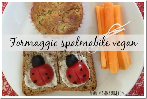 formaggio splamabile vegan