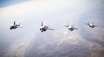 Forças Aéreas de Israel e dos EUA se juntam pela terceira vez para exercícios com caças F-35A