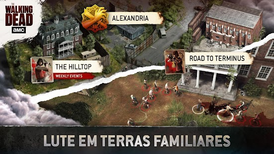 The Walking Dead No Man's Land: miniatura da captura de tela