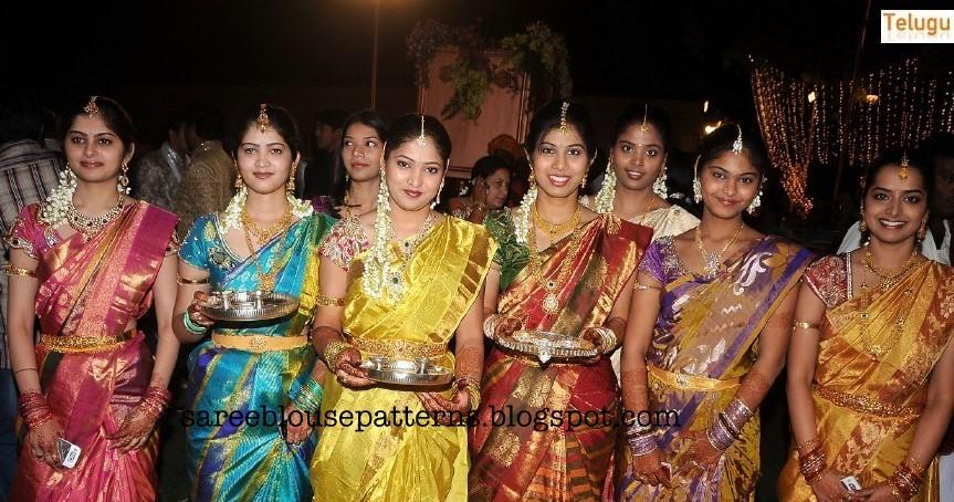 South Indian Traditional Bridal Sarees