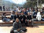 Con los estudiantes de la Universidad Jorge Tadeo Lozano