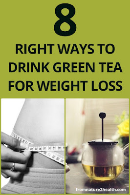 8 Right Ways to Drink Green Tea for Weight Loss
