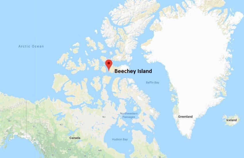 beechey-island-map
