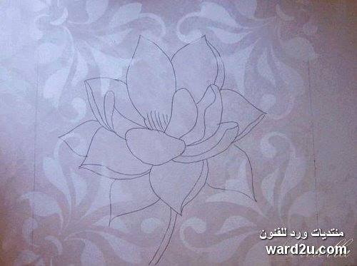 لوحه جداريه صغيره بارزه بالمعجون والخطوات بالصور