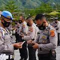 Kasi Propam Polres Bener Meriah Ipda Saifuddin Gelar Operasi Gaktipblin
