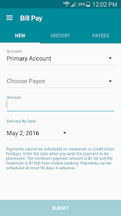 NDFCU Mobile Access- screenshot thumbnail