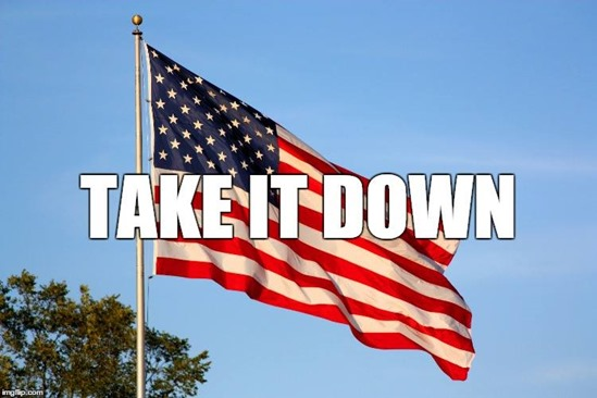 US-flag-Take-it-Down-June-2015