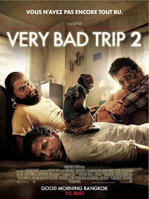 Cinéma : quelques films vus et appréciés : Very Bad Trip 2