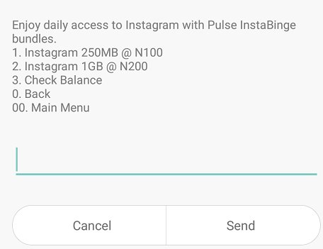 MTN, MTN InstaBinge, MN Instagram data plan, Instagram Bundle