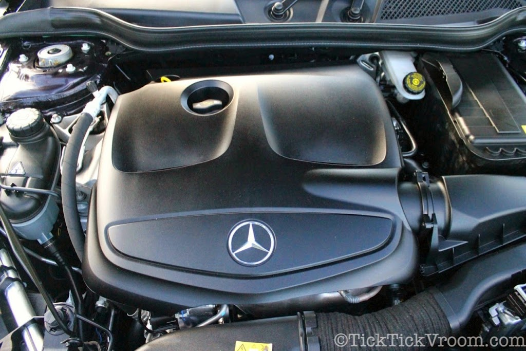 2014 Mercedes-Benz CLA250 Long-Term Test Car - Northern Lights Violet Metellic Long Term Review Road Test 6028