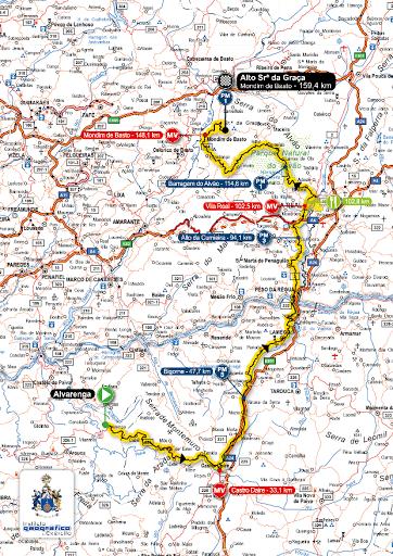 Pelotão da Volta a Portugal em Bicicleta vai passar em Lamego