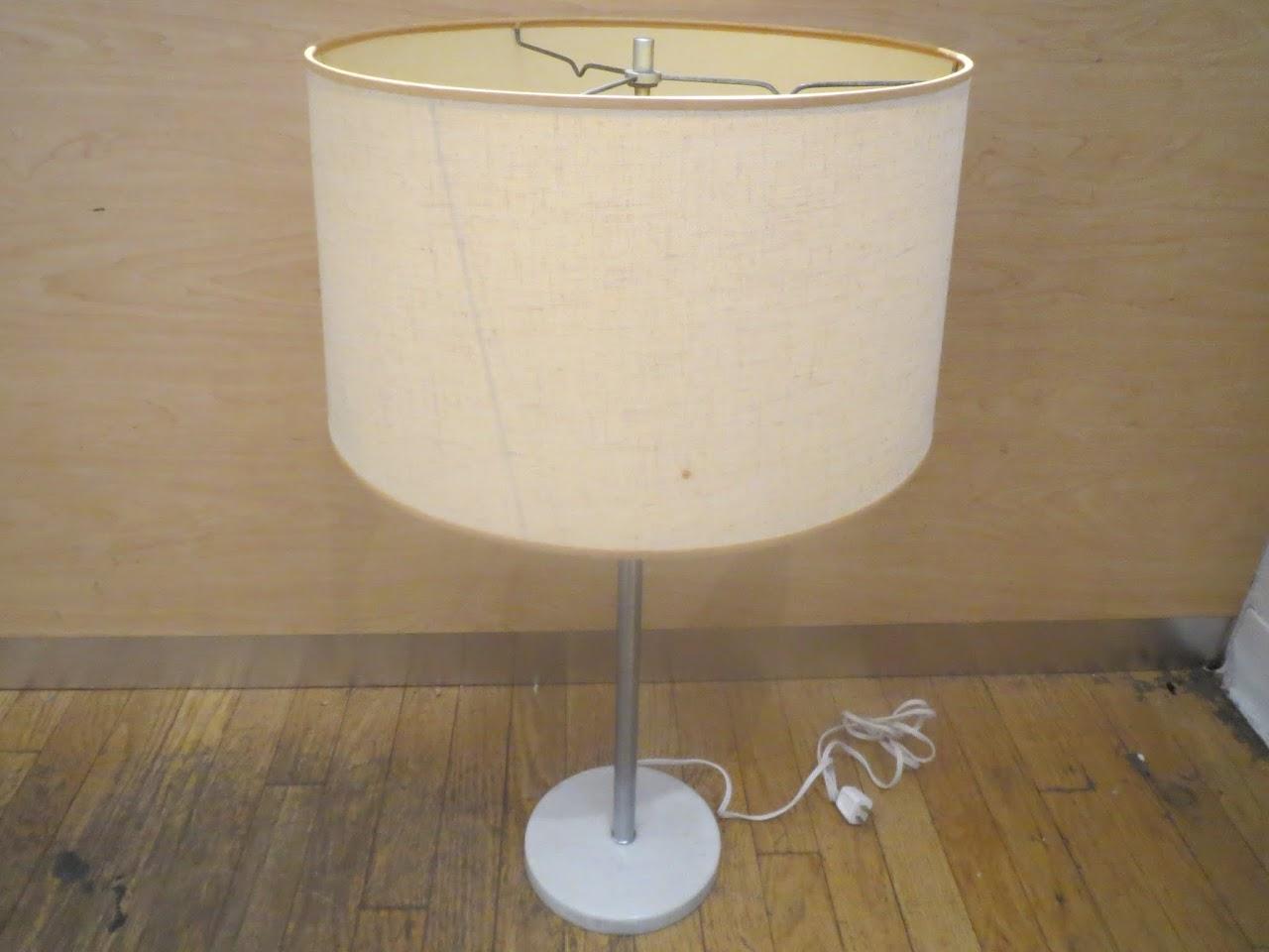 Marble Base lamp