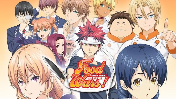 AnimeMorte: Food Wars - Shokugeki no Soma