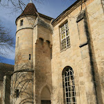 Abbaye de Royaumont : bâtiment de latrines