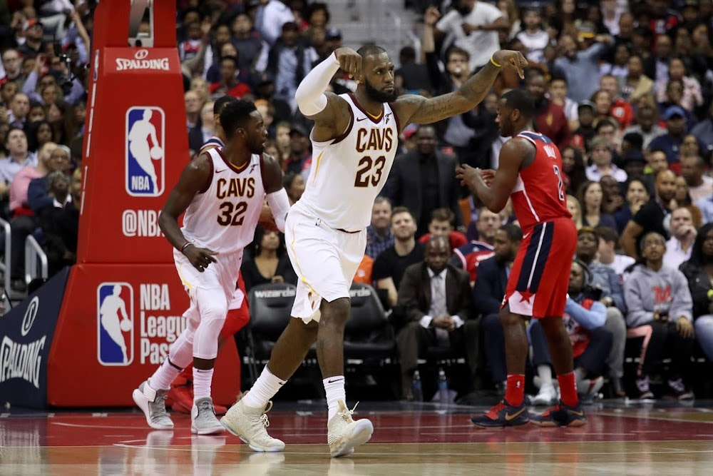 e2364af6a59 ... LeBron Goes Off For 57 Points in Nike LeBron XV Ghost ...