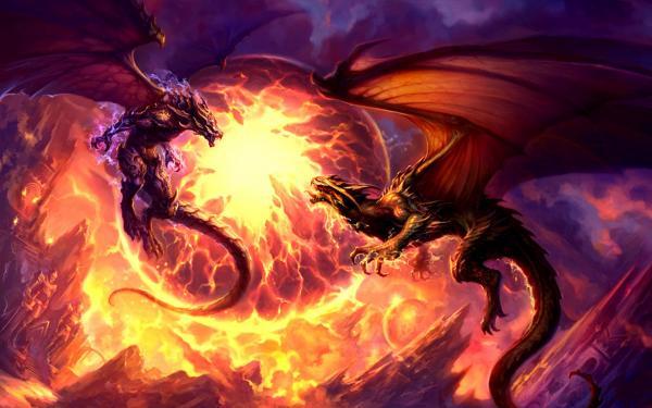 Dragon Battle, Dragons