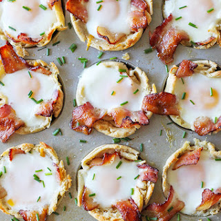 English Muffin Bacon Egg and Cheese Cups