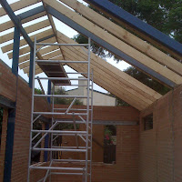Roof Truss and Walls