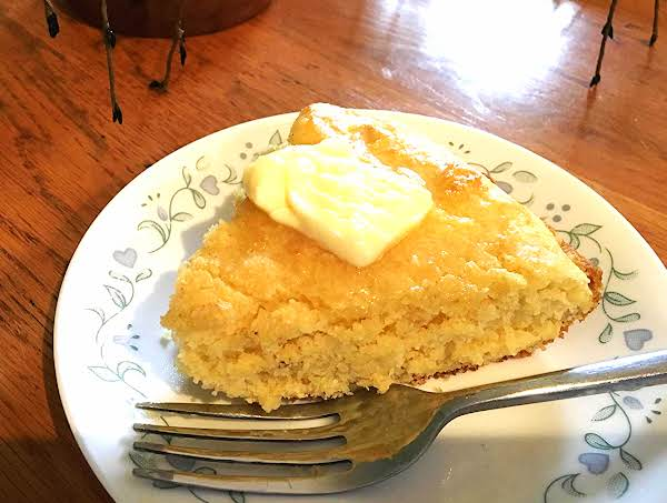 ~ Yankee Skillet Corn Bread ~ Sweet Recipe