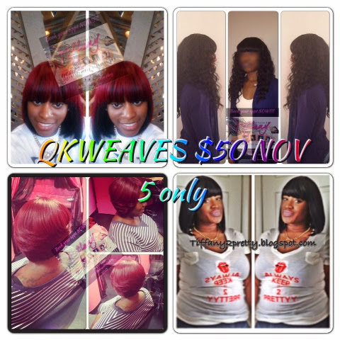 Styles by Tiffany: Nov 5 HAIR SPECIALS BOOK NOW!!!!