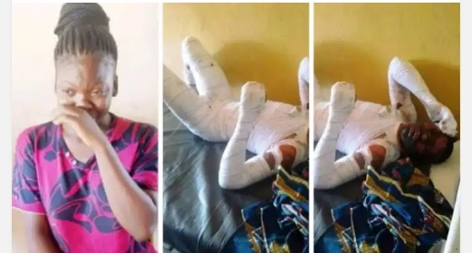 The 17-year-old girl, who burnt her boyfriend to death in Benue state, has narrated how the deceased allegedly made her abort 3 pregnancies and later started 'misbehaving